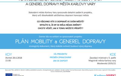 Setkání se zpracovateli projektu Plán udržitelné městské mobility statutárního města Karlovy Vary